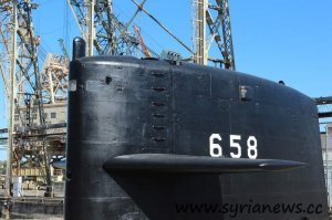 Docked Submarine