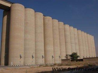 Wheat silos in Adra
