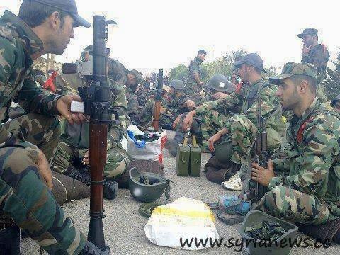 SAA Unit Soldiers