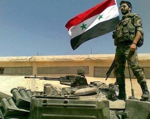 SAA Soldier - Syrian Arab Army