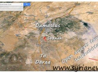 SAA Liberates Sbeneh South of Damascus