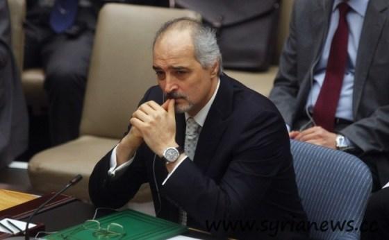 Dr. Bashar Jaafari, Syria's permanent representative at the United Nations