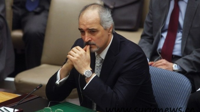 "Dr. Bashar Jaafari, Syria""s permanent representative at the United Nations"