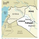 Map of Iraq and Syria