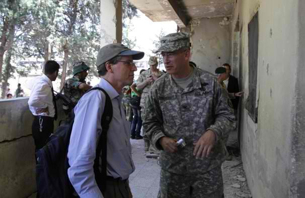 Robert Ford in Hama 2011