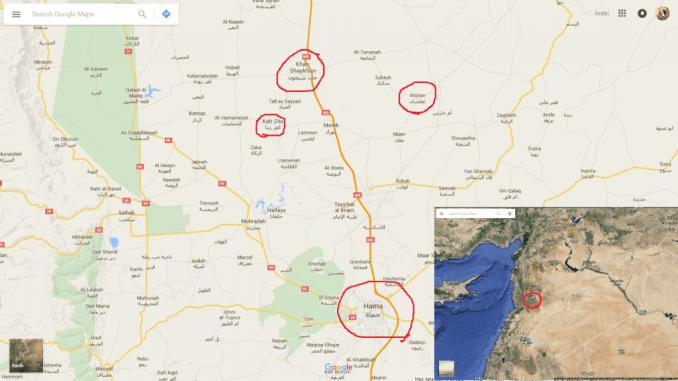 SAA restore Atshan town - Hama countryside