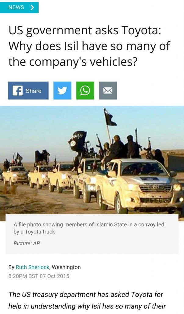 US playing dumb with inquiries about ISIL /ISIS/ Daesh