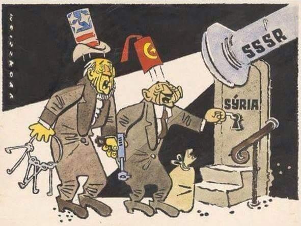 image- 1958: USA & Turkey vs. Syria and Russia