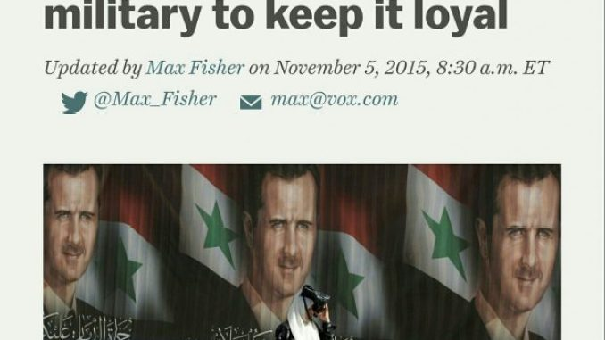 Image - Western mainstream media failed analyzes of Syria