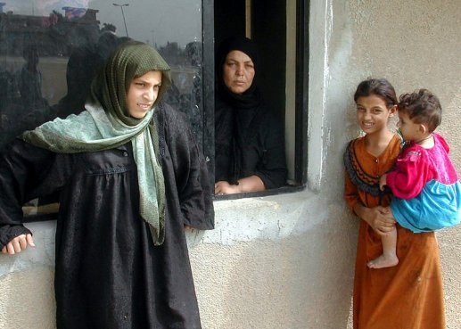 image- Iraqi Refugees in Damascus Syria