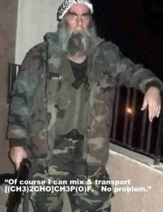 Inbred moderate terrorist