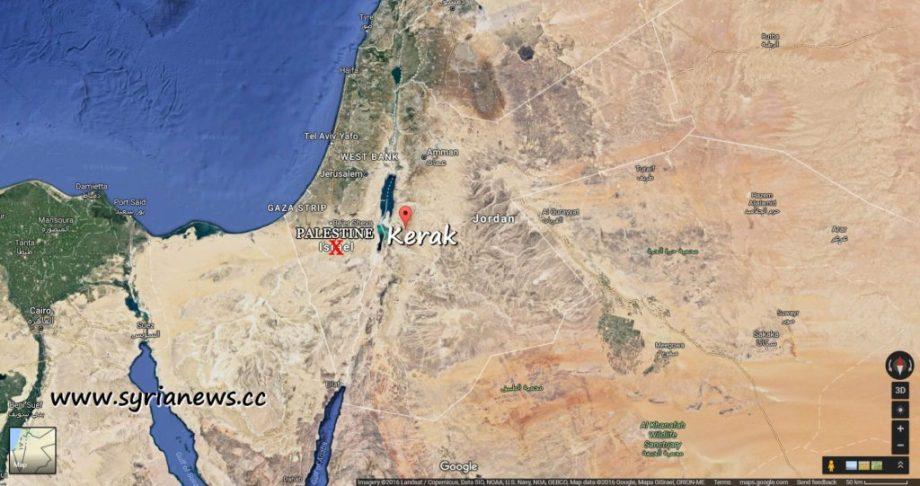 image-Kerak Map - Jordan