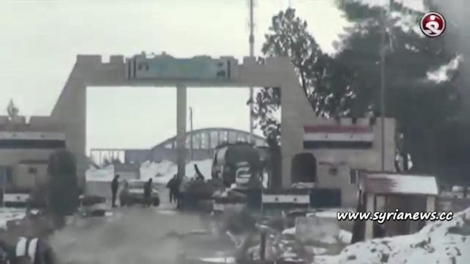 image-SAA Syrian Arab Army heroes defending T4 Military Airport from ISIS operating in severe weather conditions