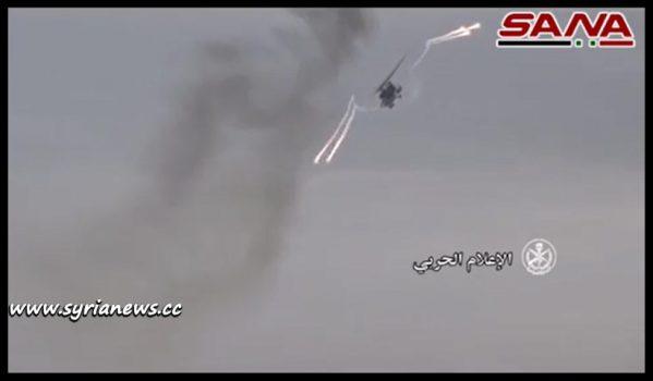 image-SAA Chase Remnants of ISIS Terrorists around Tadmor (Palmyra)