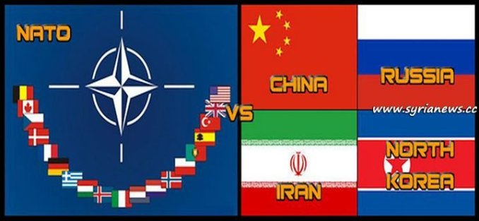 image-NATO vs China, Russia, Iran, North Korea..