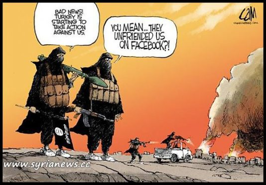 image-Turkey Unfriends ISIS on Facebook