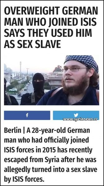image-German Gay in ISIS - Roles and Duties