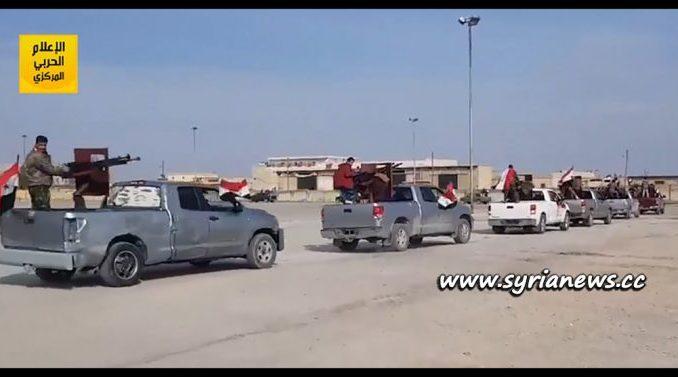 image-SAA-Allied Popular Forces Enter Afrin