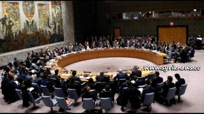 image-UNSC Meeting on Eastern Ghouta - Damascus - Syria