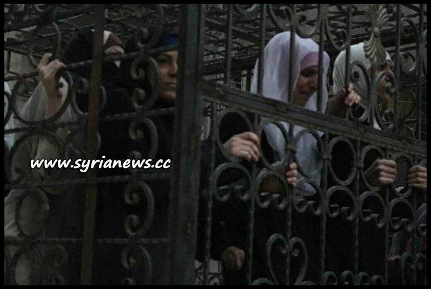femicide Saudi-Sponsored Jaysh al-Islam Drove Women and Children in Cages