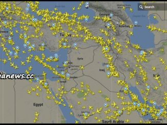 image-Flight Status Over Syria After Warning of US Attack - Source: www.flightradar24.com