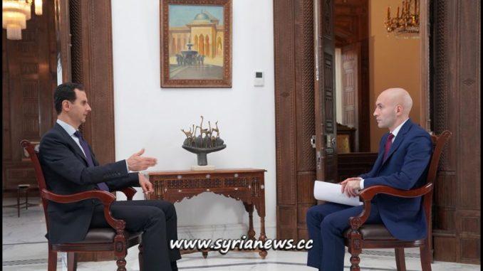 Syria President Dr. Bashar al-Assad Interview with RT