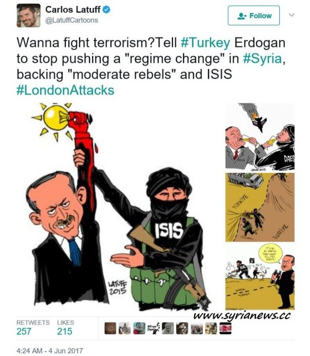 image-Wanna Fight Terror? Tell Erdogan to Stop Supporting Terror