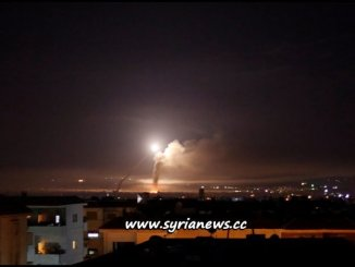 image-SAA Air-Defense Shoots Down Incoming Israel Missiles over Damascus - 09 May 2018