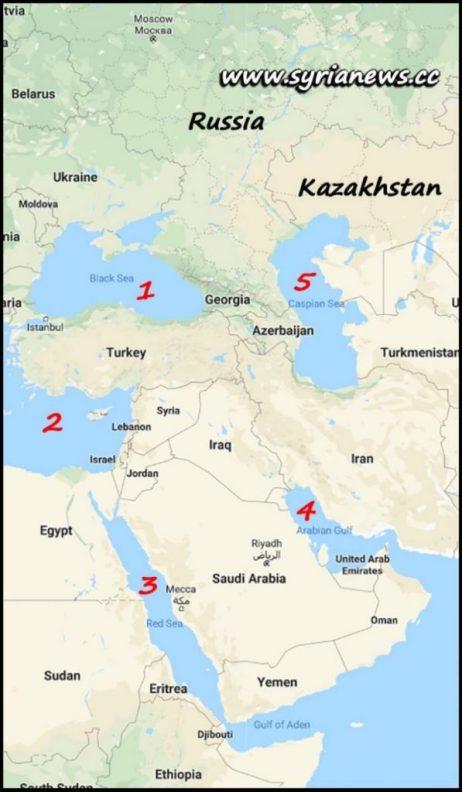 image-President Bashar al-Assad's 5 Seas Economic and Development Initiative