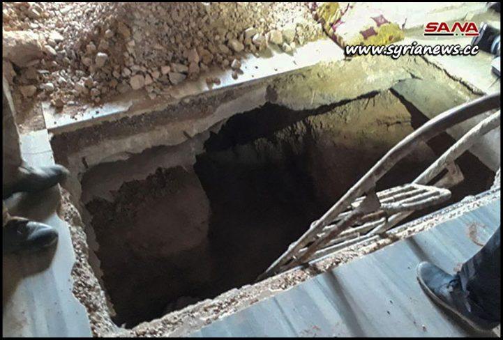 image-Tunnels Terrorists Dug in Hajar Aswad