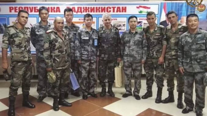 Chinese and Syrian Military Commanders Meet
