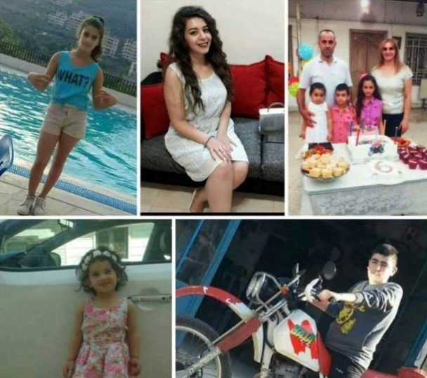 Nine Syrian civilians martyred in Mhardeh, 7 Sept.