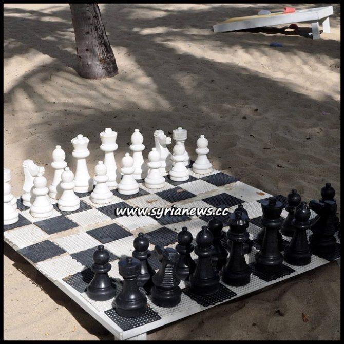 Chess Board - Elegant Perfidy