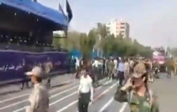 Iran Military Parade Terrorist Attack in Ahvaz