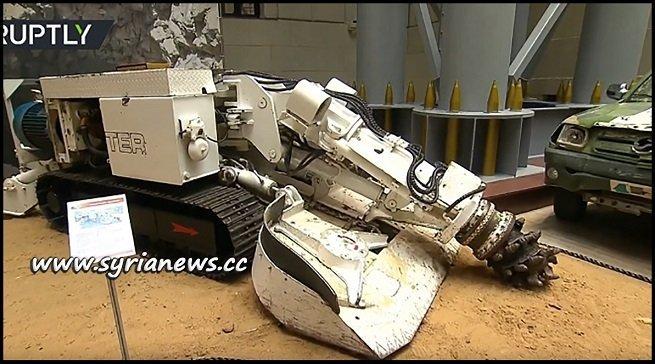 Terrorists Tunnel Bore Machine on display in Russian MoD Museum