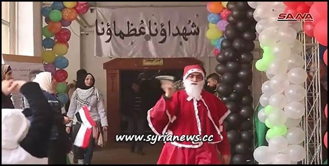 Der Ezzor Honors 100 Families of SAA Martyrs on Christmas