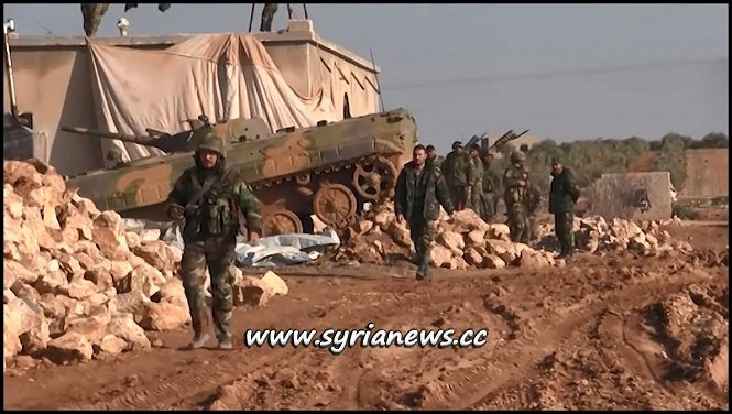 SAA Soldiers Protecting Manbij from Turkey and its Terrorists