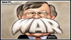 USA John Bolton War Crazy - swamp - deep state - Trump