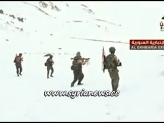 Syrian Arab Army Heroes at the Summit of Mount Hermon Jabal Al Sheikh جبل الشيخ