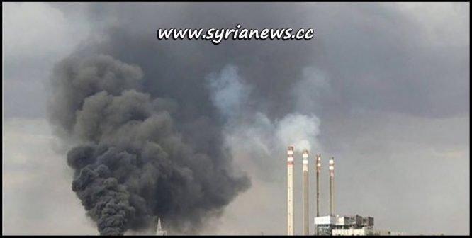 Mhardeh Electricity Power Station Hama Idlib Nusra Front