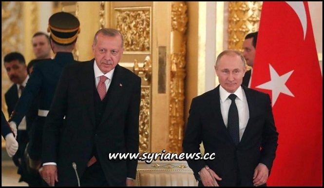 Erdogan and Putin Meet in Moscow Discuss Syria