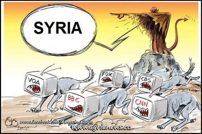 Mainstream Media attack on Syria
