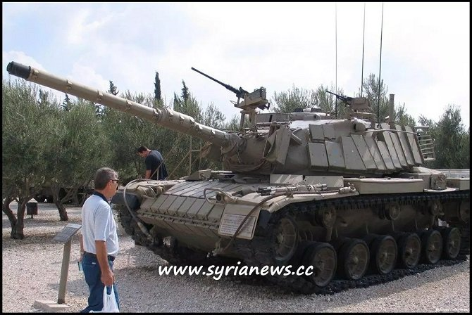 Russia Re-Gifts Israel a Tank Syria Gifted to Russia captured by the SAA in the Battle of Sultan Yaqub, Lebanon's Bekaa Valley - Tanks Massacre Battle.