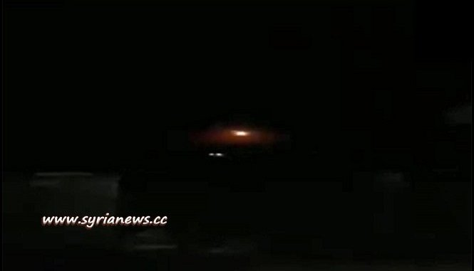 SAA Air Defense Respond to Israeli Air Bombing at Masyaf