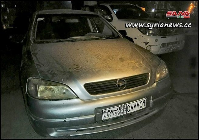 Booby-trapped car discovered by Syrian security in Al-Zahraa Homs