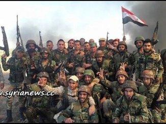 Syrian Arab Army SAA Soldiers