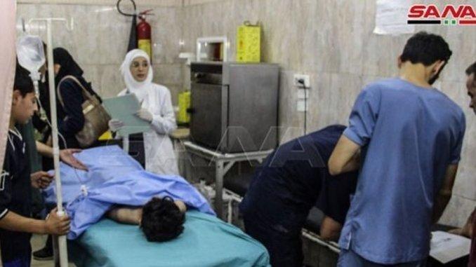 aleppo bomb killed 4 civilians