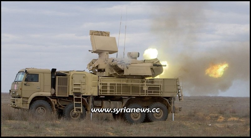 Pantsir missile system - Syrian Arab Army SAA air defence - Archive photo