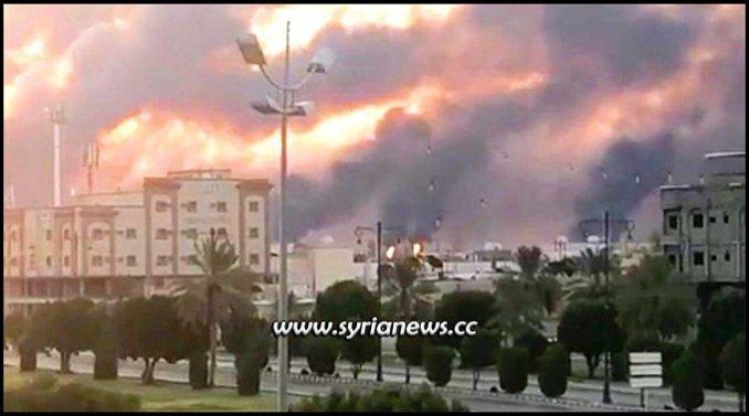 Aramco Attack - Yemen Armed Forces retaliate Saudi Massacres