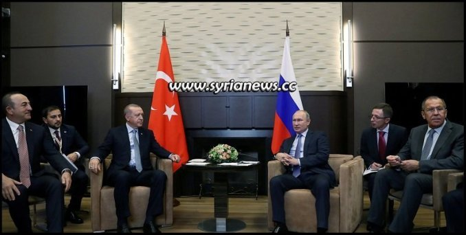 Putin meets Erdogan in Sochi